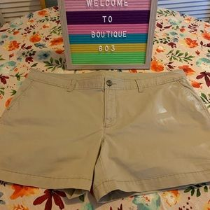 Old Navy khaki shorts